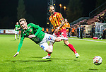 S&ouml;dert&auml;lje 2015-10-05 Fotboll Superettan Syrianska FC - J&ouml;nk&ouml;pings S&ouml;dra :  <br /> J&ouml;nk&ouml;ping S&ouml;dras Daryl Smylie faller i en n&auml;rkamp med Syrianskas Marko Mihajlovic under matchen mellan Syrianska FC och J&ouml;nk&ouml;pings S&ouml;dra <br /> (Foto: Kenta J&ouml;nsson) Nyckelord:  Syrianska SFC S&ouml;dert&auml;lje Fotbollsarena J&ouml;nk&ouml;ping S&ouml;dra J-S&ouml;dra