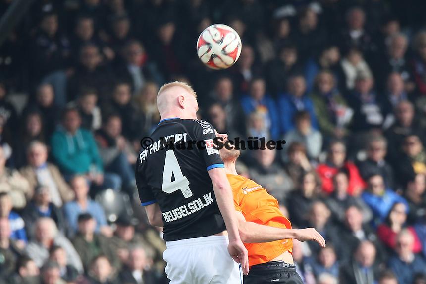 Tom Breugelsdijk (FSV) gegen Ronny Koenig (SV98) - FSV Frankfurt vs. SV Darmstadt 98, Frankfurter Volksbank Stadion