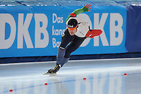 SPEED SKATING: STAVANGER: Sørmarka Arena, 31-01-2016, ISU World Cup, 1000m Men Division B, David Bosa (ITA), ©photo Martin de Jong