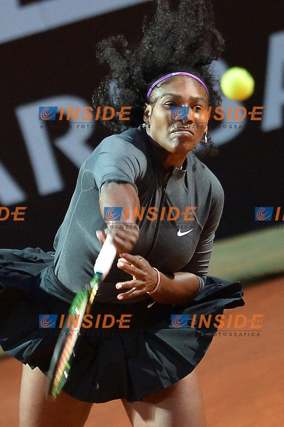 Serena Williams (USA)<br /> Roma 13-05-2016  Foro Italico<br /> Internazionali BNL d'Italia, <br /> Tennis WTA<br /> Foto Antonietta Baldassarre / Insidefoto