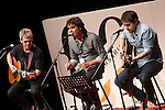 "Singers Ariel Rot, Lichis and Txetxu during the Gala ""Contigo"" in celebration of the 90th anniversary of Radio Madrid Cadena SER. June 2, 2015. (ALTERPHOTOS/Acero)"