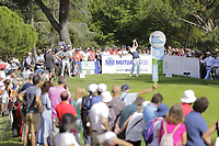 Jon Rahm (ESP) on the 8th tee during the second round of the Mutuactivos Open de Espana, Club de Campo Villa de Madrid, Madrid, Madrid, Spain. 04/10/2019.<br /> Picture Hugo Alcalde / Golffile.ie<br /> <br /> All photo usage must carry mandatory copyright credit (© Golffile | Hugo Alcalde)