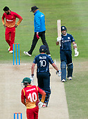 Cricket Scotland - Scotland V Zimbabwe One Day International match at Grange CC today (Thur) - this match is the second of two ODI matches this week against Zimbabwe, and Scotland won the first encounter, on Thursday, by 26 runs - %0 for Scotland's Kyle Coetzer - picture by Donald MacLeod - 17.06.2017 - 07702 319 738 - clanmacleod@btinternet.com - www.donald-macleod.com