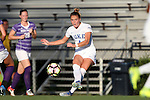 11 September 2016: Duke's Ashton Miller. The Duke University Blue Devils hosted the High Point University Panthers at Koskinen Stadium in Durham, North Carolina in a 2016 NCAA Division I Women's Soccer match. Duke won the match 4-1.
