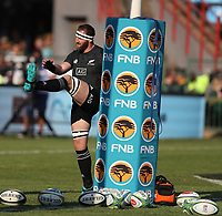 PRETORIA, SOUTH AFRICA - OCTOBER 06: Kieran Read, captain of the New Zealand All Blacks during the Rugby Championship match between South Africa Springboks and New Zealand All Blacks at Loftus Versfeld Stadium. on October 6, 2018 in Pretoria, South Africa. Photo: Steve Haag / stevehaagsports.com