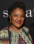 "Lynn Nottage attends the Broadway Production of  ""Sweat"" at studio 54 Theatre on March 26, 2017 in New York City"