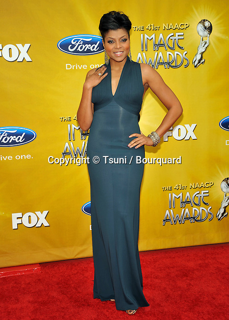 Taraji P Henson _62   -.41st NAACP Image Awards at the Shrine Auditorium in Los Angeles.