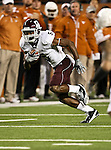 Texas A&M Aggies wide receiver Kenric McNeal (5) in action during the Texas A & M vs. Texas Longhorns football game at the Darrell K Royal - Texas Memorial Stadium in Austin, Tx. Texas A & M defeats Texas 24 to 17....