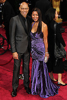 HOLLYWOOD, LOS ANGELES, CA, USA - MARCH 02: John Ridley, Gayle Ridley at the 86th Annual Academy Awards held at Dolby Theatre on March 2, 2014 in Hollywood, Los Angeles, California, United States. (Photo by Xavier Collin/Celebrity Monitor)