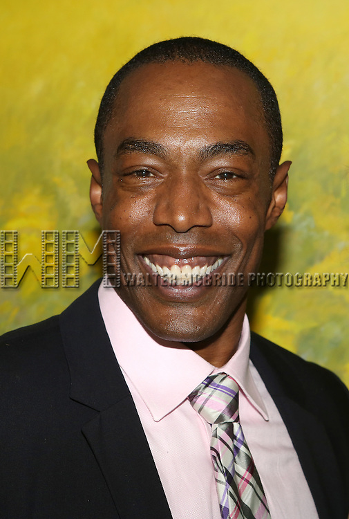 Michael McElroy attends 'Parlor Night' A benefit evening for The Broadway Inspirational Voices Outreach Program at the home of Roy and Jenny Neiderhoffer on June 22, 2015 in New York City.