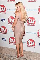 Danielle Sellers<br /> arriving for the TV Choice Awards 2017 at The Dorchester Hotel, London. <br /> <br /> <br /> ©Ash Knotek  D3303  04/09/2017