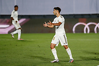 10th July 2020; Estadio Alfredo Di Stefano, Madrid, Spain; La Liga Football, Real Madrid versus Deportivo Alaves; Marco Asensio (Real Madrid)  looks frustrated as he misses a good goal scoring chance