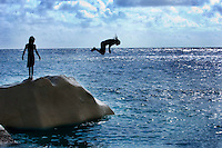 The Seychelles.