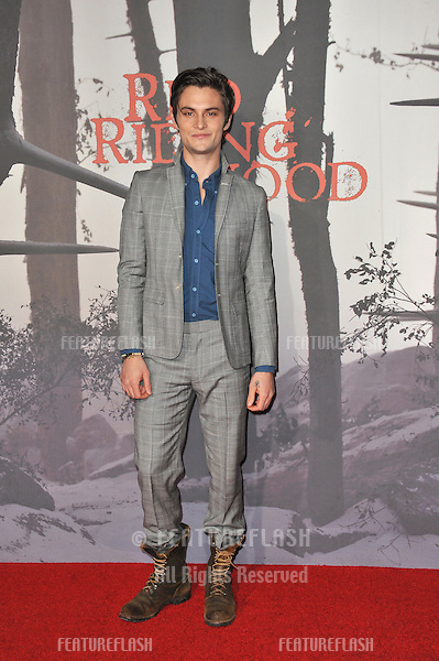 "Shiloh Fernandez at the Los Angeles premiere of his new movie ""Red Riding Hood"" at Grauman's Chinese Theatre, Hollywood..March 7, 2011  Los Angeles, CA.Picture: Paul Smith / Featureflash"