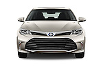 Car photography straight front view of a 2016 Toyota Avalon XLE Premium 4 Door Sedan Front View