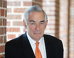 David Halberstam photographed at Johnson Commons at The University of Mississippi ON April 20, 2004.