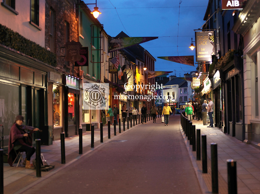 A street view of Killarney Town in County Kerry ireland 2019.<br /> Photo: Don MacMonagle<br /> www.macmonagle.com