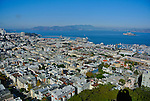 View from Coit Tower, San Francisco. Bob & Lou's trip to California Nov. 2015. (Bob Gathany Photographer)