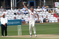 Paul Walter of Essex claims the wicket of Ian Westwood during Essex CCC vs Warwickshire CCC, Specsavers County Championship Division 1 Cricket at The Cloudfm County Ground on 21st June 2017