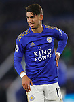 Ayoze Perez of Leicester City during the Premier League match against Everton at the King Power Stadium, Leicester. Picture date: 1st December 2019. Picture credit should read: Darren Staples/Sportimage