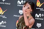 Macarena Gomez attends to the Feroz Awards 2017 in Madrid, Spain. January 23, 2017. (ALTERPHOTOS/BorjaB.Hojas)