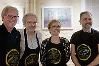 Patrice Bourdin, Michel Bordas, Marjorie Martin-Sisteron et St&eacute;phane Le Mou&euml;l<br /> Galerie du rond point du Chambon
