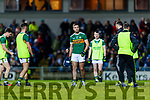 Adrian Spillane Kerry players before the Allianz Football League Division 1 Round 3 match between Kerry and Dublin at Austin Stack Park in Tralee, Kerry on Saturday night.