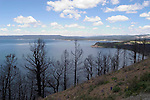 WY: Wyoming, Yellowstone National Park..Yellowstone Lake.Photo #: yellow829..Photo copyright Lee Foster, 510/549-2202, lee@fostertravel.com, www.fostertravel.com..
