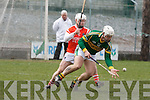 Kerry's Gary O'Brien and Armagh's Paddy McArdle.
