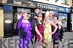Abbeyfeale locals are getting ready to step back in time as they have organised a Roaring '20s fundraising night in The Ploughman Bar in aid of the Abbeyfeale Development Association on Friday 13th. Pictured were: Margaret Williams, Steve Smith, Shannon Smith, Craig Smith, Marie Smith and Kathleen McCoy.