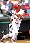 14 March 2007: St. Louis Cardinals outfielder Rick Ankiel in the action against the Washington Nationals at Roger Dean Stadium in Jupiter, Florida...Mandatory Photo Credit: Ed Wolfstein Photo