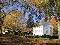 Old Narragansett Church in Wickford, Rhode Island