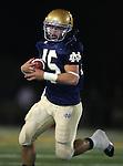 Servite @ Notre Dame - Sherman Oaks (CIF Southern Section).Hayden Hunter (45).Notre Dame High School Stadium.Sherman Oaks, CA (Los Angeles) - October 5, 2007.KN1R8206.CREDIT: Dirk Dewachter