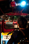 Our first ride in a tuk tuk.