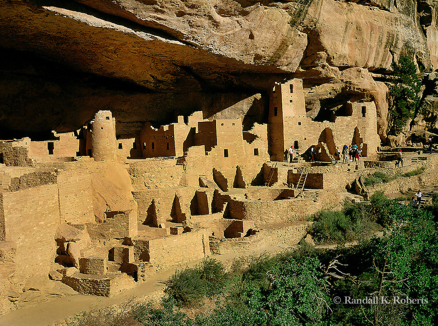 Cliff Palace ruins, Mesa Verde National Park, Colorado