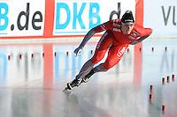 SCHAATSEN: BOEDAPEST: Essent ISU European Championships, 07-01-2012, 500m Men, Håvard Bøkko NOR, ©foto Martin de Jong