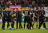 Enttäuschung bei Eintracht Frankfurt - 19.09.2019:  Eintracht Frankfurt vs. Arsenal London, UEFA Europa League, Gruppenphase, Commerzbank Arena<br /> DISCLAIMER: DFL regulations prohibit any use of photographs as image sequences and/or quasi-video.