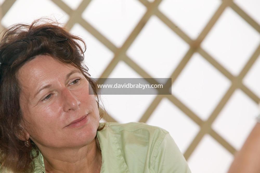 Diane Bertrand, dejeuner de presse, 20 ans de la Fondation Groupama-Gan pour le Cinema, Cannes, France, 18 mai 2007.