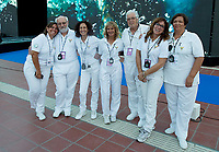 judges<br /> day 01  08-08-2017<br /> Energy For Swim<br /> Rome  08 -09  August 2017<br /> Stadio del Nuoto - Foro Italico<br /> Photo Deepbluemedia/Insidefoto