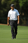 May 8,2011 - Andres Romero walks to his ball on ten.  Lucas Glover wins the tournament in sudden death over Jonathan Byrd at Quail Hollow Country Club,Charlotte,NC.