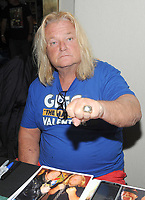 NEW YORK, NY - NOVEMBER 4: Wrestling Hall of Famer Greg Valentine attends the Big Event NY at LaGuardia Plaza Hotel on November 4, 2017 in Queens, New York.  Credit: George Napolitano/MediaPunch /NortePhoto.com
