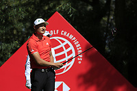 Haotong Li (CHN) on the 9th tee during the 2nd round of the WGC HSBC Champions, Sheshan Golf Club, Shanghai, China. 01/11/2019.<br /> Picture Fran Caffrey / Golffile.ie<br /> <br /> All photo usage must carry mandatory copyright credit (© Golffile   Fran Caffrey)