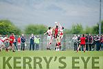 In Action at the  Junior Premier Club Championship 2016 Round 1 St Pat's Blennerville V Glenbeigh-Glencar at Blennerville GAA Ground on Sunday