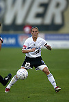 1 August 2003: Kristine Lilly. The Boston Breakers defeated the New York Power 3-2 at Mitchel Field in Uniondale, NY in a regular season WUSA game..Mandatory Credit: Scott Bales/Icon SMI