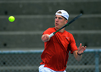 Anton Shepp. 2019 Wellington Tennis Open at Renouf Centre in Wellington, New Zealand on Thursday, 19 December 2019. Photo: Dave Lintott / lintottphoto.co.nz