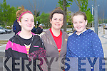 CHARITY WALK: Enjoying the Kerry Hospice Foundation Good Friday Walk at the Brandon hotel, Tralee on Friday l-r: Aileen Twomey, Aishlin O'Brien and Michaela O'Donoghue all from Ballymac.