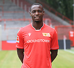 06.07.2019, Stadion an der Wuhlheide, Berlin, GER, 2.FBL, 1.FC UNION BERLIN , Mannschaftsfoto, Portraits, <br /> DFL  regulations prohibit any use of photographs as image sequences and/or quasi-video<br /> im Bild Anthony Ujah (1.FC Union Berlin #13)<br /> <br /> <br />      <br /> Foto © nordphoto / Engler