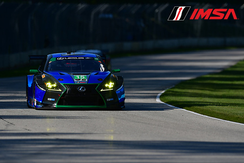 IMSA WeatherTech SportsCar Championship<br /> Continental Tire Road Race Showcase<br /> Road America, Elkhart Lake, WI USA<br /> Saturday 5 August 2017<br /> 15, Lexus, Lexus RCF GT3, GTD, Robert Alon, Jack Hawksworth<br /> World Copyright: Peter Burke<br /> LAT Images