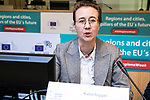 BRUSSELS - BELGIUM - 10 October 2019 -- iEER Final conference as part of European Week of Regions and Cities - The Hacking Growth – boosting entrepreneurial ecosystems in European regions. -- Katja Reppel, Deputy Head of Unit for Smart and Sustainable Growth, DG Regio, European Commission. -- PHOTO: Juha ROININEN / EUP-IMAGES