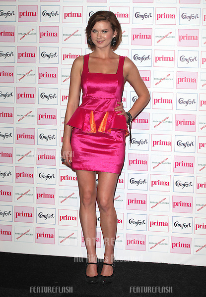 Natasha Leigh arriving for the Prima Comfort Fashion Awards 2012, At Evolution, Battersea Park, London. 13/09/2012 Picture by: Alexandra Glen / Featureflash